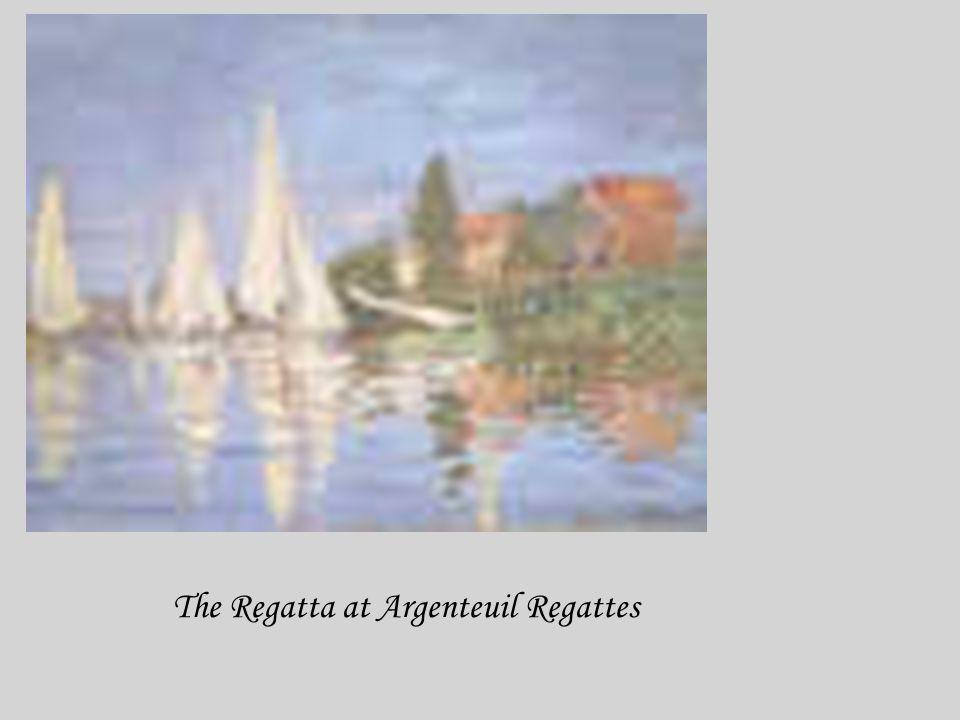 The Regatta at Argenteuil Regattes