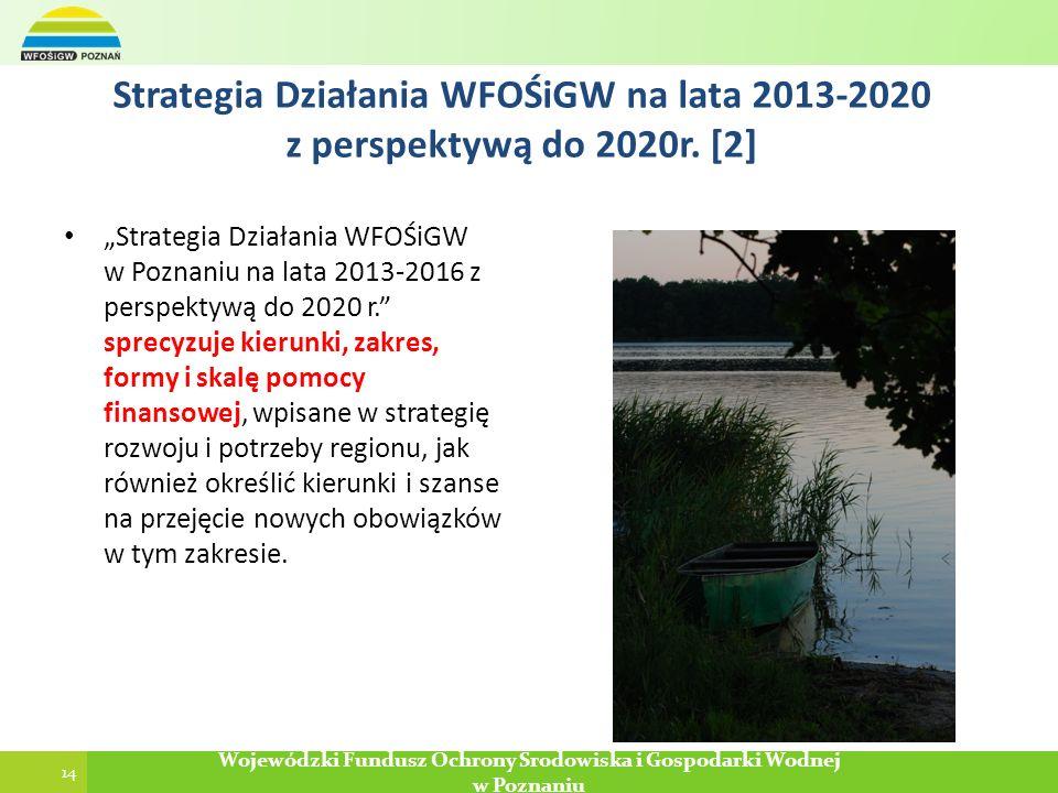 14 Poznań, 2013-12-29 Wojewódzki Fundusz Ochrony Środowiska i Gospodarki Wodnej w Poznaniu 14 Wojewódzki Fundusz Ochrony Środowiska i Gospodarki Wodne