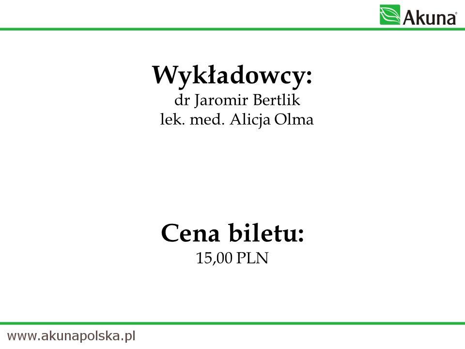 Cena biletu: 15,00 PLN