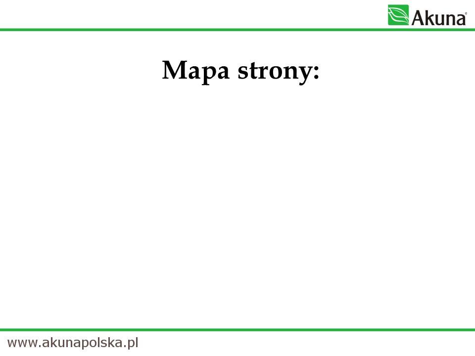 Mapa strony: