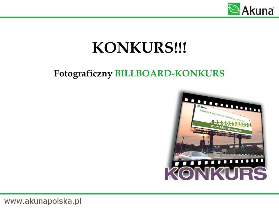 KONKURS!!! Fotograficzny BILLBOARD-KONKURS