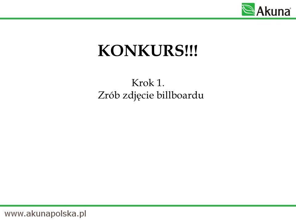 Krok 1. Zrób zdjęcie billboardu KONKURS!!!