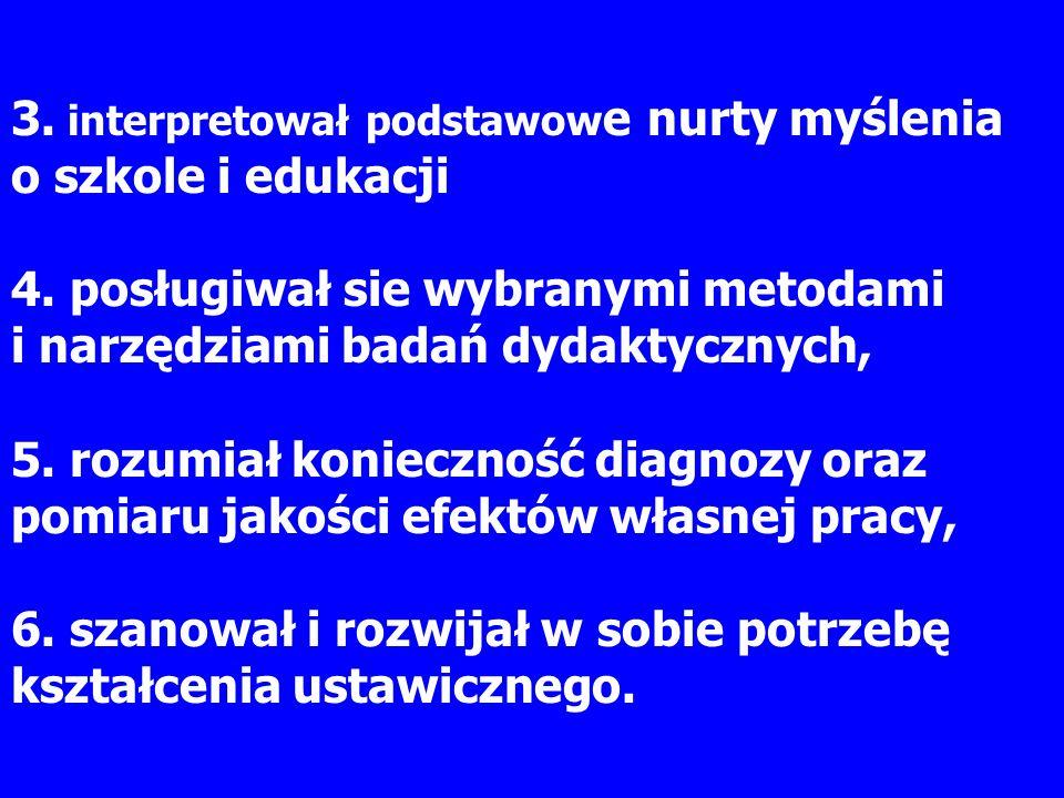 Literatura literatura podstawowa: Bereźnicki F., Dydaktyka kształcenia ogólnego.