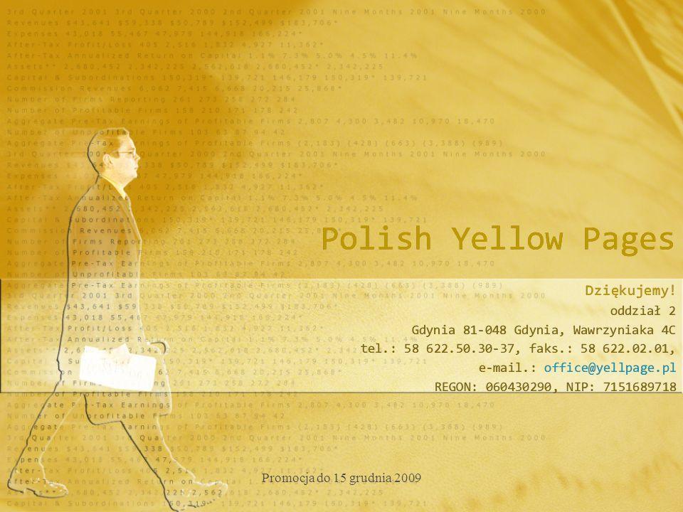 Polish Yellow Pages Dziękujemy.