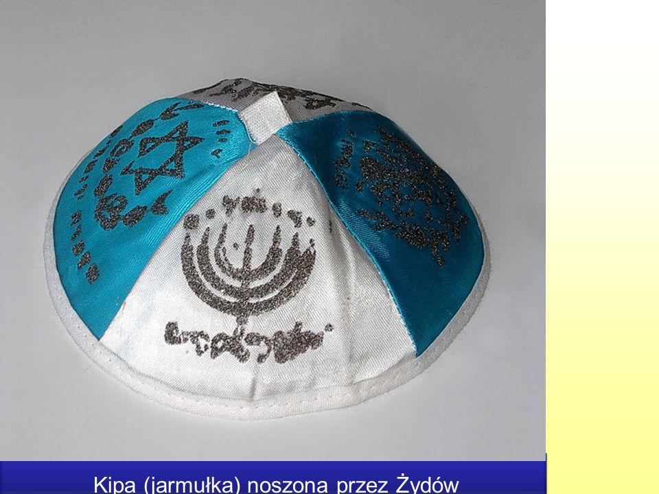 Kipa (jarmułka) noszona przez Żydów Kipa (jarmułka) noszona przez Żydów