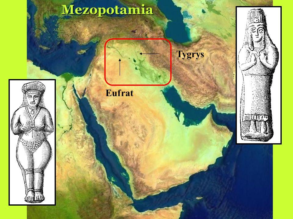 Mezopotamia Tygrys Eufrat