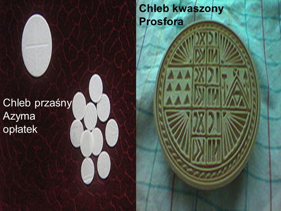 Chleb przaśny Azyma opłatek Chleb kwaszony Prosfora