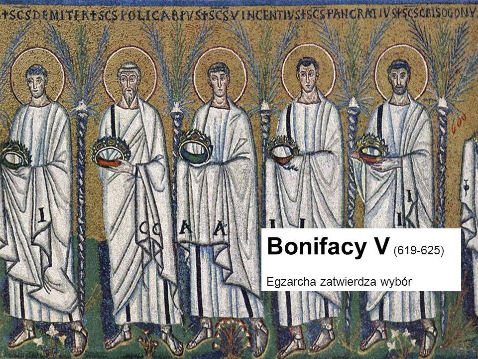 Papież Jan VIII (872-882) Zapobiegł najazdowi Saracenów Walki z rzymską arystokracją (Spoletańczykami i bp Formuzosem) Walka z niewolnictwem Zakończenie schizmy focjańskiej Papież początku saeculum obscurum