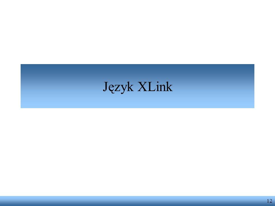 12 Język XLink