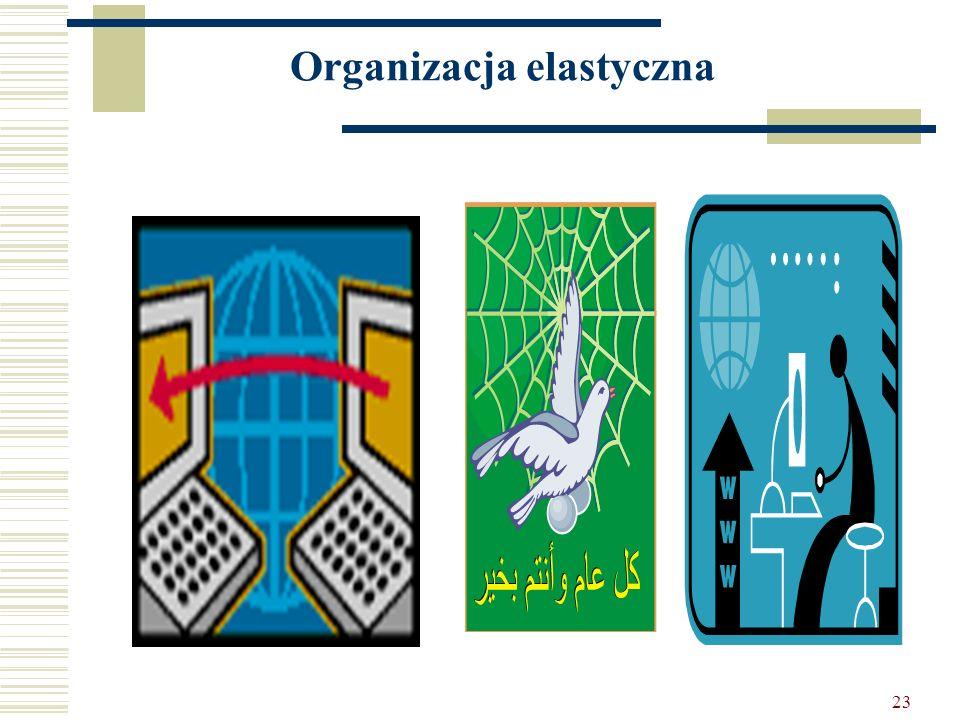 23 Organizacja elastyczna