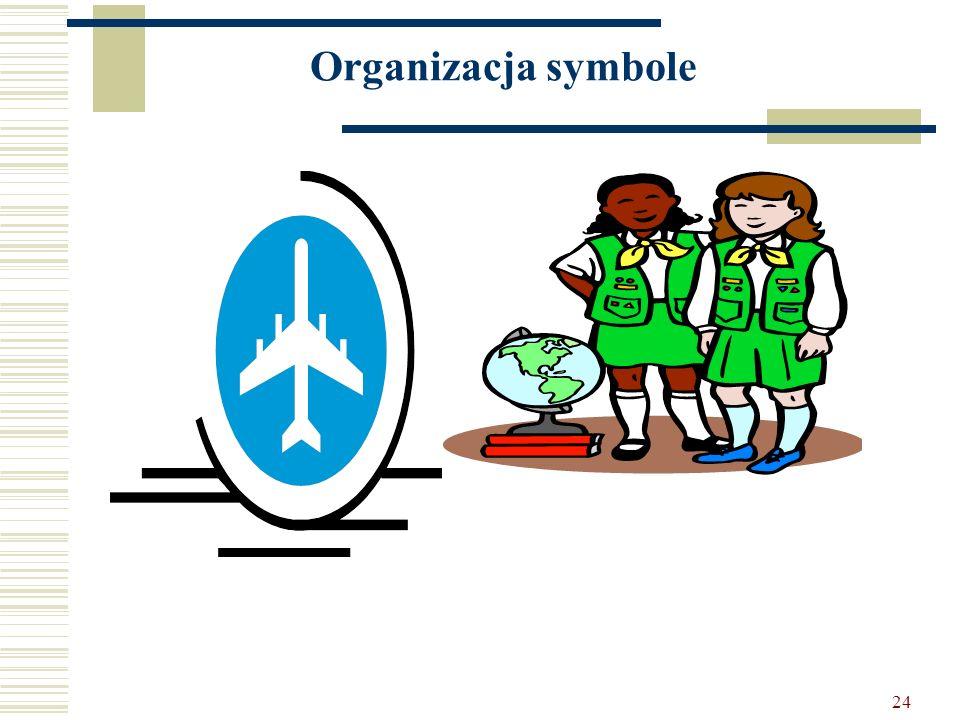 24 Organizacja symbole