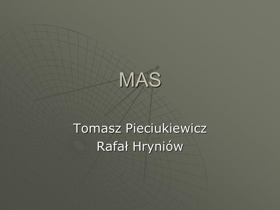 MAS Tomasz Pieciukiewicz Rafał Hryniów