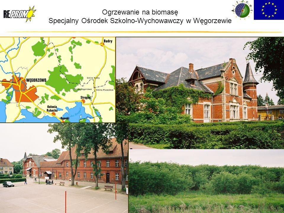 Ogrzewanie na biomasę Specjalny Ośrodek Szkolno-Wychowawczy w Węgorzewie