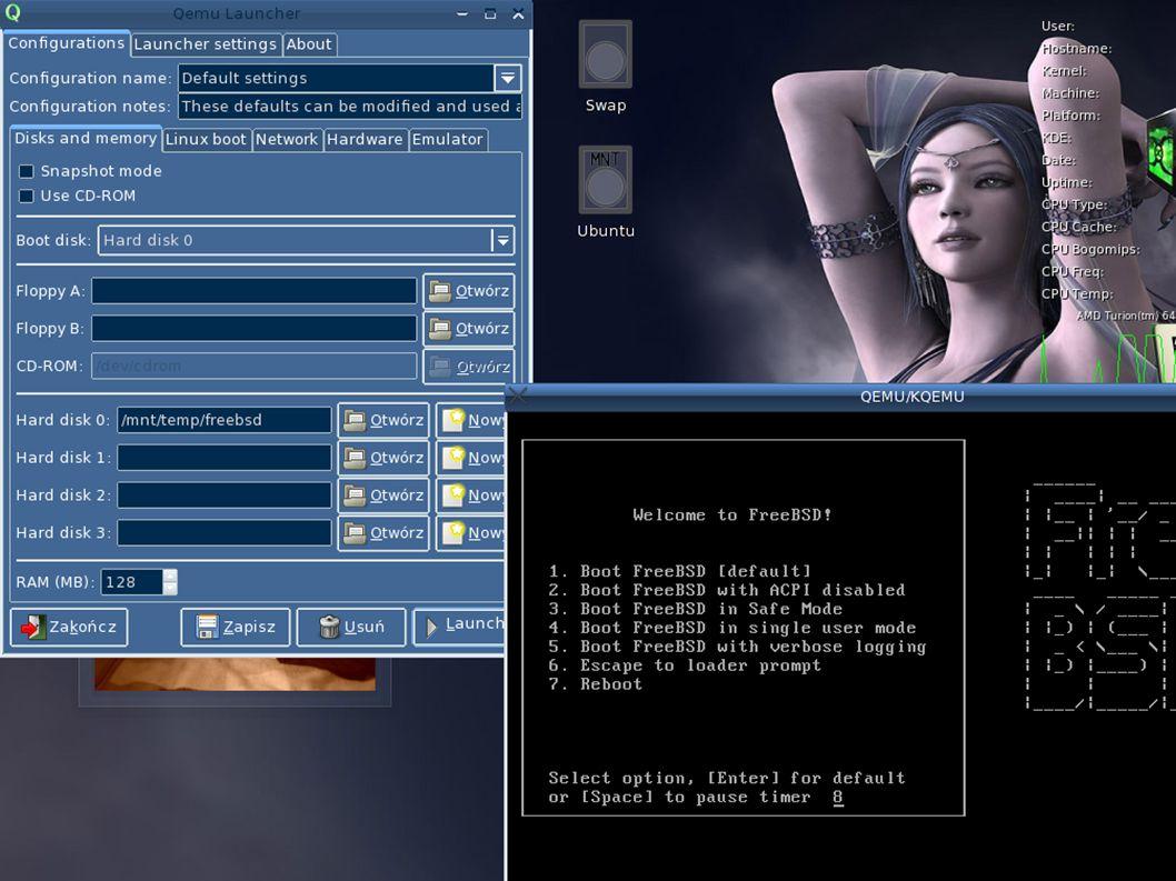 winecfg Dalej mamy Graphics, gdzie jest możliwość ustawienia różnych opcji dotyczących graficznych aspektów programu.
