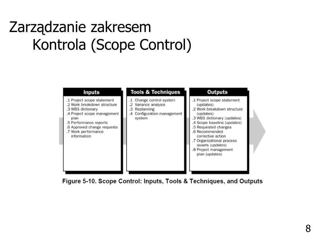 Zarządzanie Czasem (Project Time Managment) 9