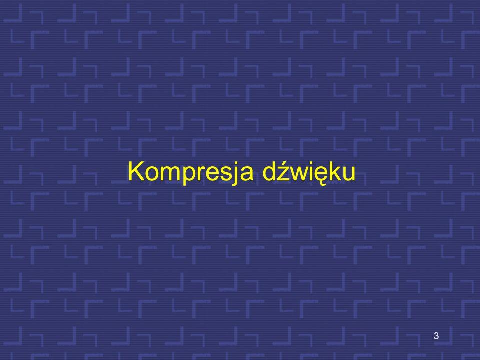 Kompresja dźwięku 3