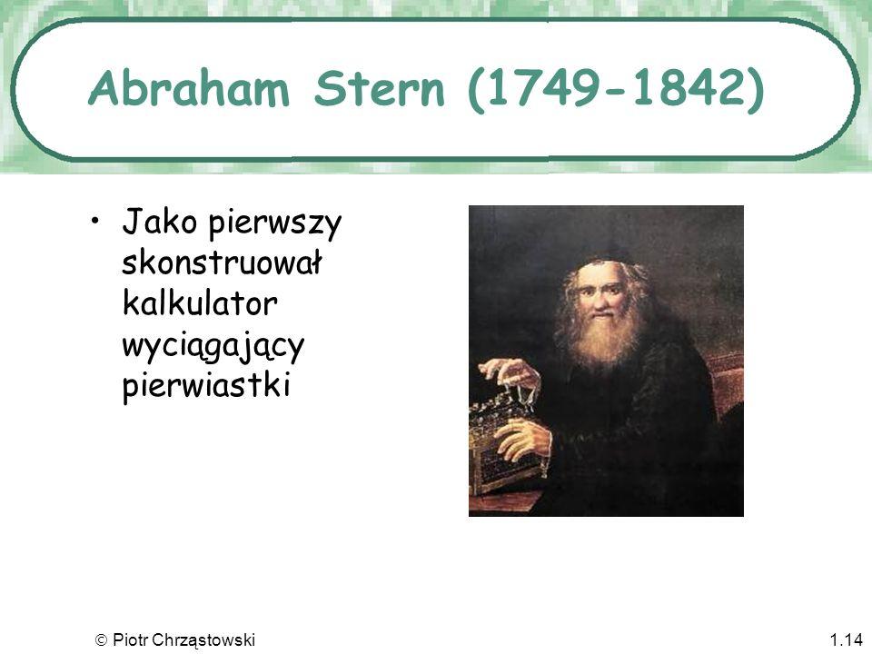Piotr Chrząstowski1.13 Kaczka de Vaucansona