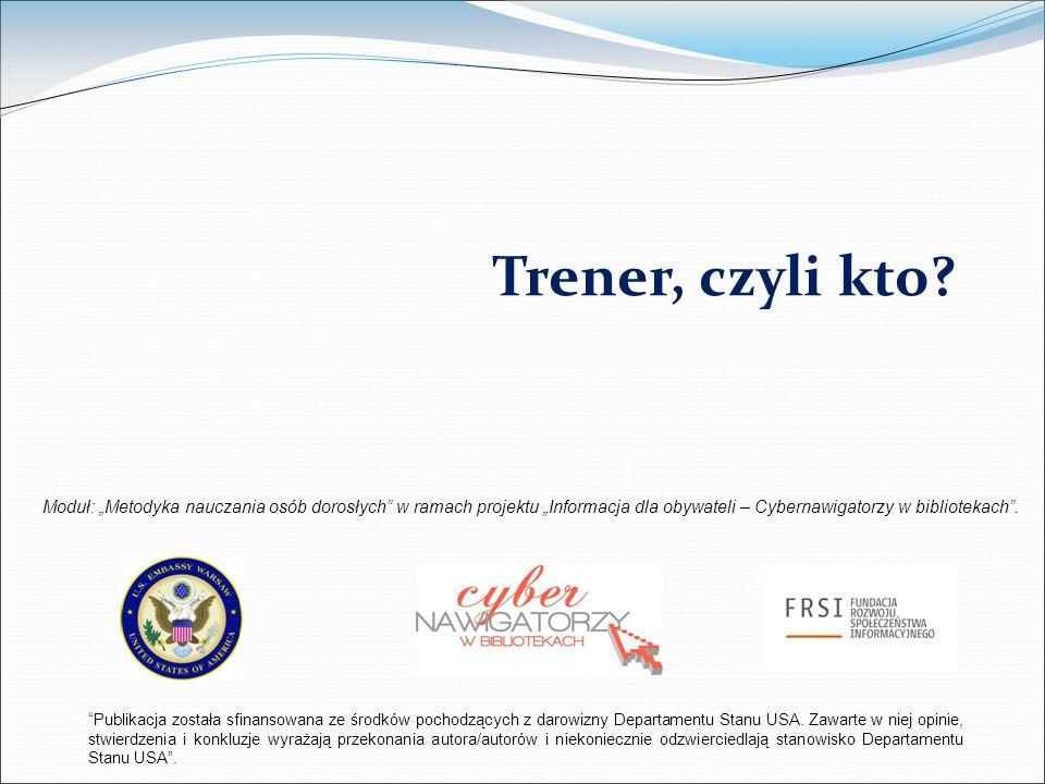 Publikacja została sfinansowana ze środków pochodzących z darowizny Departamentu Stanu USA.