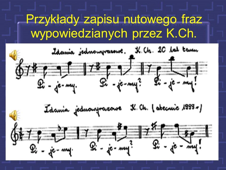26 Czy prozodia wpływa na artykulację ? Intensywność i rejestr głosu F0=262 Hz F0=466 Hz F0=349 Hz