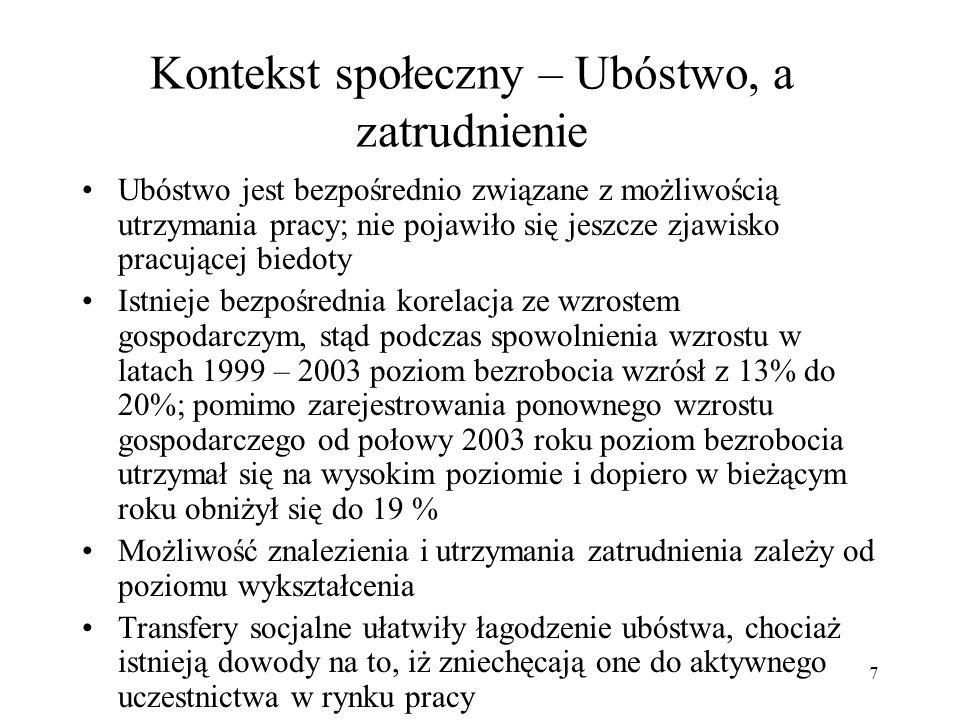 28 III. Polska, a Bank Światowy: dotychczasowa współpraca i wnioski