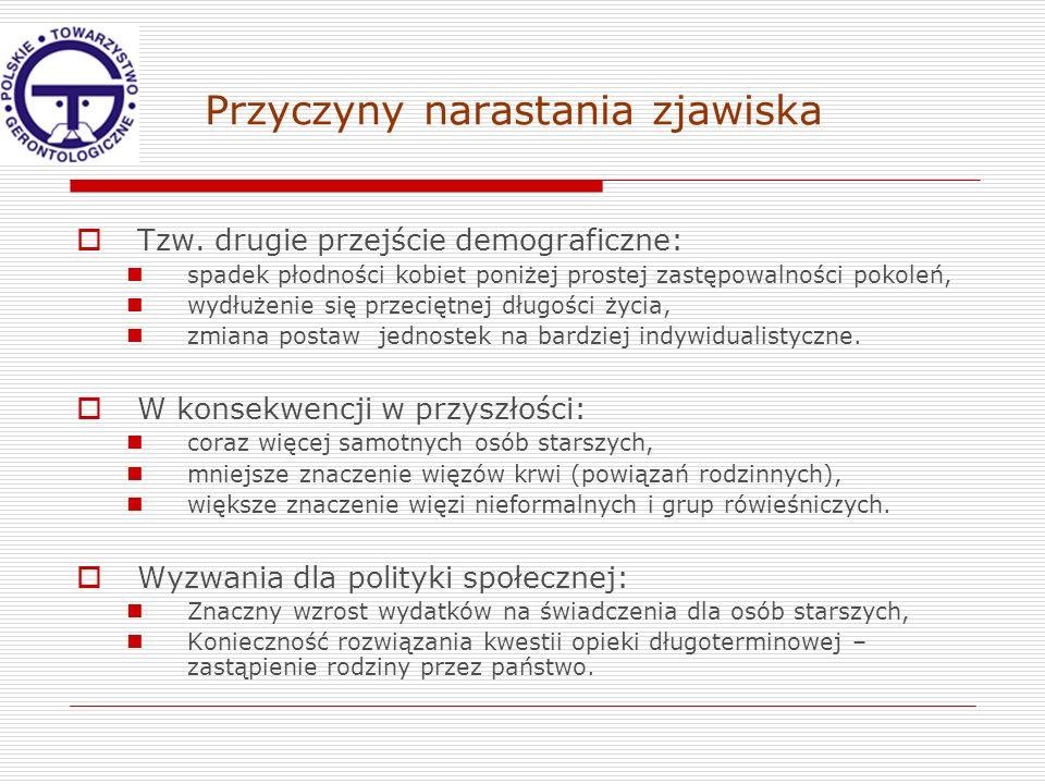 Statystyki Brak aktualnych reprezentatywnych polskich danych ilościowych (w 2009 r.