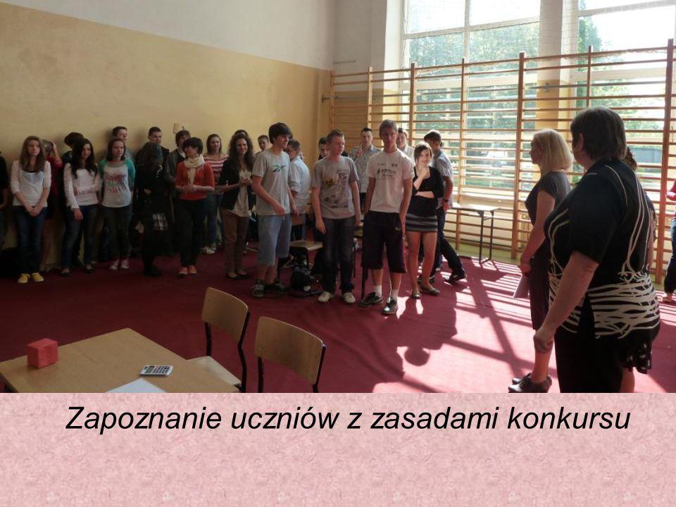 I miejsce Patrycja Król i Wojciech Kamiński uczniowie ZS w Niemodlinie