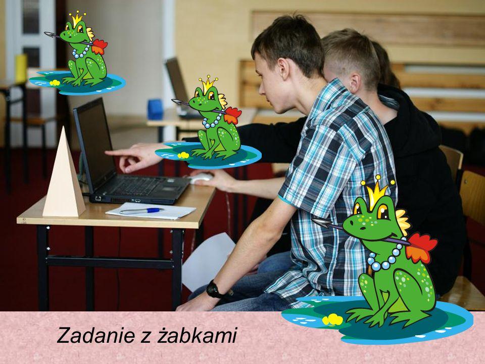 Zadanie z żabkami
