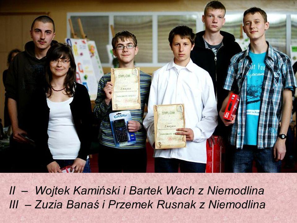 II – Wojtek Kamiński i Bartek Wach z Niemodlina III – Zuzia Banaś i Przemek Rusnak z Niemodlina