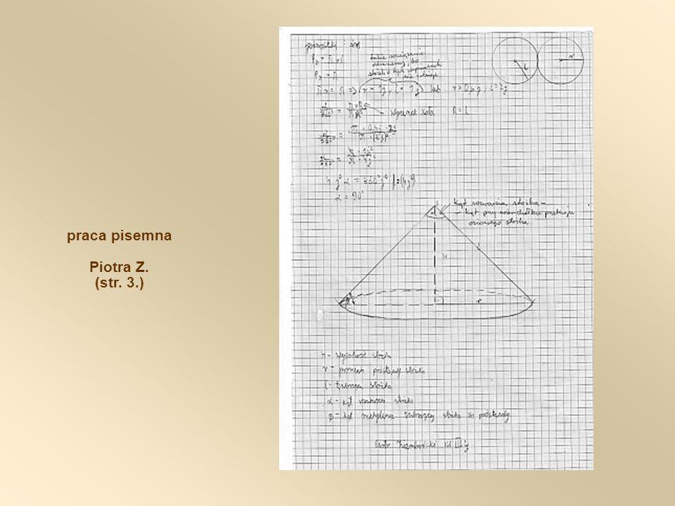 praca pisemna Piotra Z. (str. 3.)