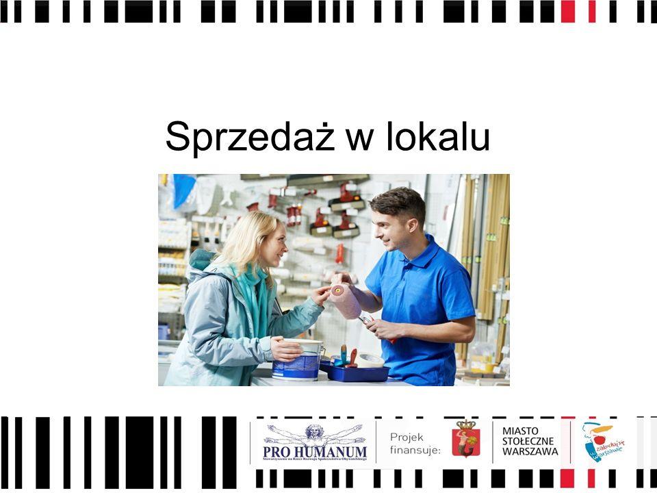 Sprzedaż w lokalu