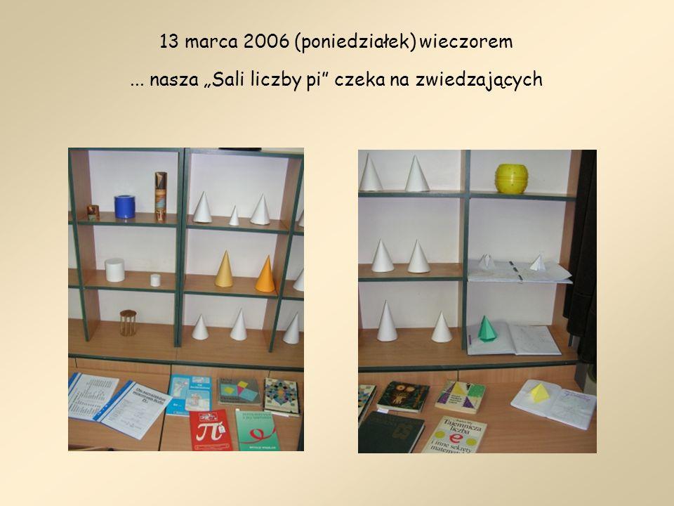 14 marca 2006 (wtorek) W oczekiwaniu na Gości Samorządy klasowe i wszyscy pozostali uczniowie, którzy brali udział w projekcie.