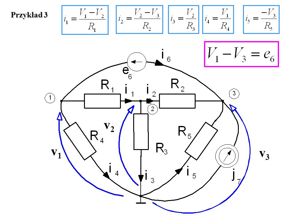 v1v1 v3v3 v2v2 Przykład 3