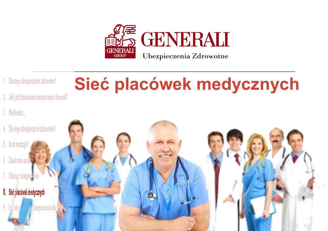 Sieć placówek medycznych