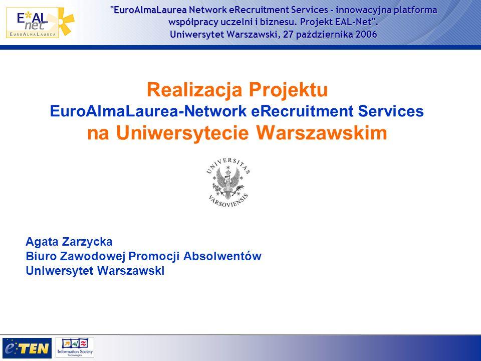 EuroAlmaLaurea Network eRecruitment Services - innowacyjna platforma współpracy uczelni i biznesu.