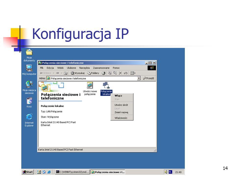 14 Konfiguracja IP