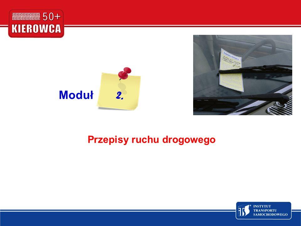 Moduł Przepisy ruchu drogowego 2.