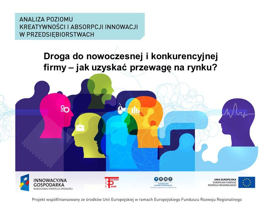 Agenda Innowacyjność Wpływ innowacyjności na konkurencyjność Strategie konkurowania BOS - strategia oparta na innowacji Propozycja wartości - przewaga konkurencyjna Cechy innowacyjnego przywództwa