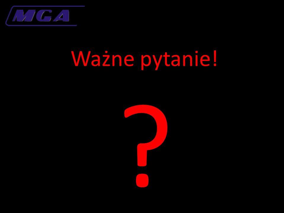 Ważne pytanie! ?