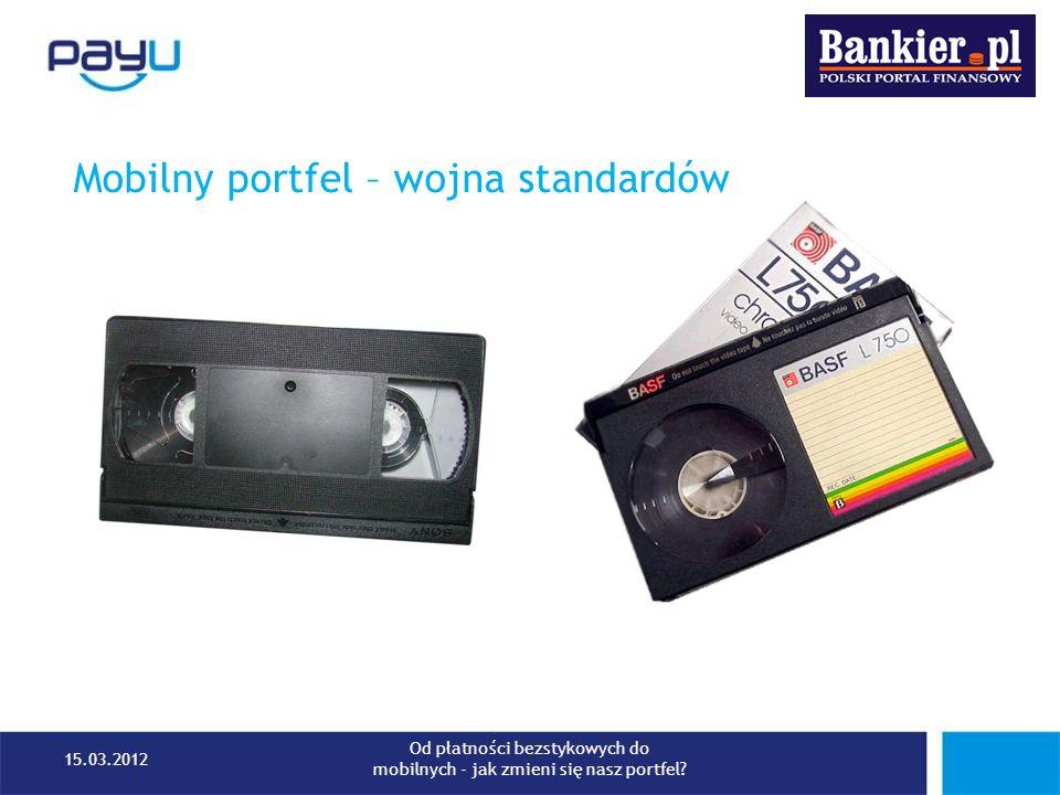 Reguły finansowania transakcji – definiowane przez użytkownika Źródło: http://ebayinkblog.com/2012/03/13/paypal-unveils-new-digital-wallet-at-sxsw-2012/http://ebayinkblog.com/2012/03/13/paypal-unveils-new-digital-wallet-at-sxsw-2012/ 15.03.2012 Od płatności bezstykowych do mobilnych - jak zmieni się nasz portfel?