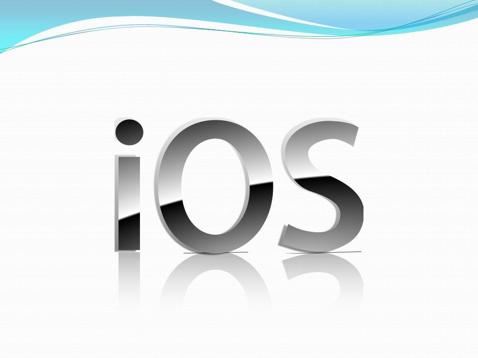 iOS rozwijany przez Apple premiera: 2007 rok bazuje na Mac OS X (unixopodobny) drugi pod względem sprzedaży system mobilny Apple App Store ponad 24 mld pobranych aplikacji