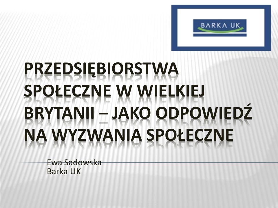 Ewa Sadowska Barka UK