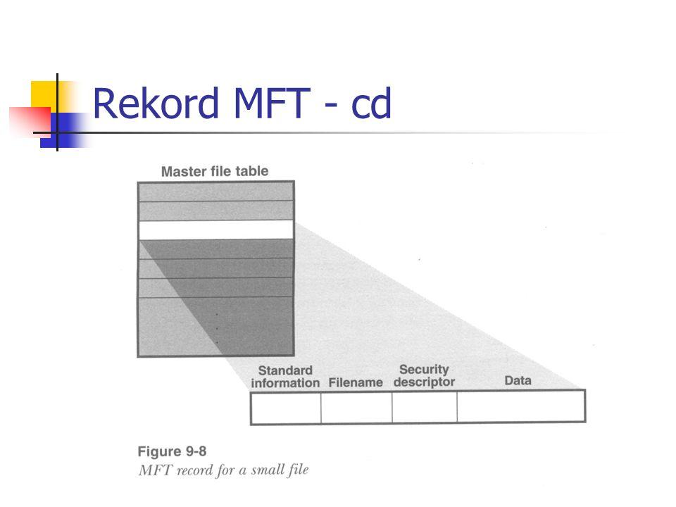 Rekord MFT - cd