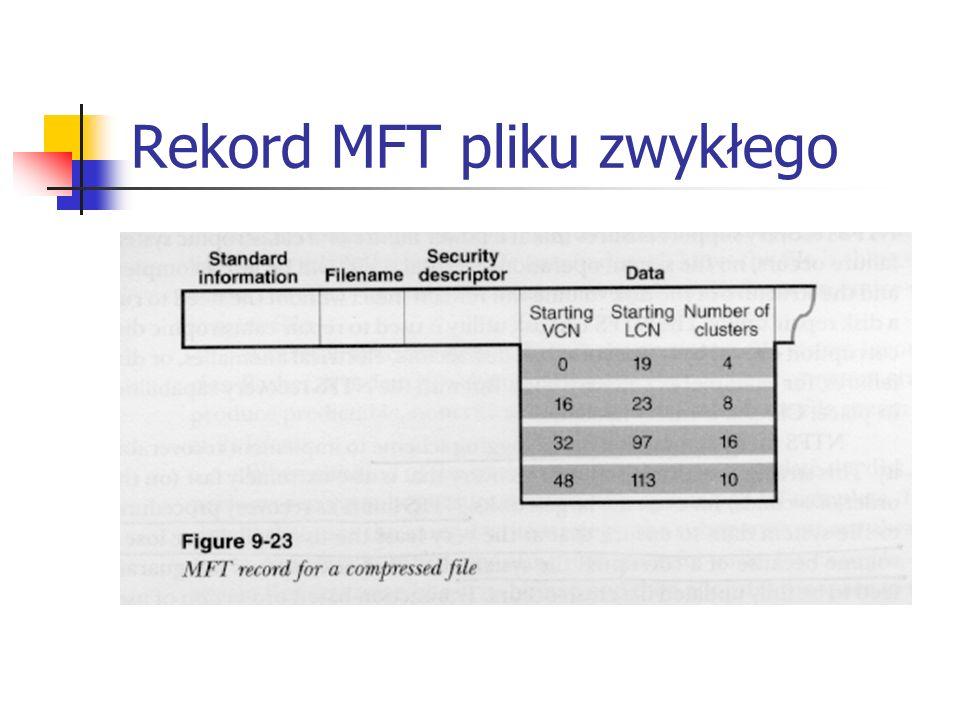 Rekord MFT pliku zwykłego