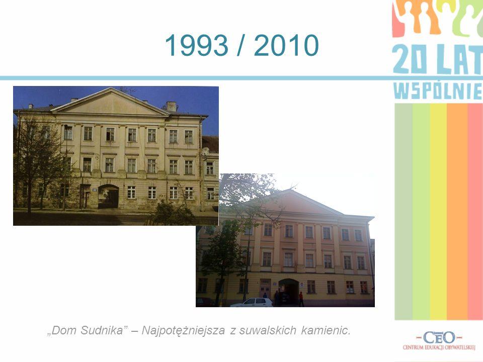Obiekty, które pojawiły się od 1990 roku Plaza Suwałki, czyli nowoczesne centrum handlowe, otwarte w 2010 roku.