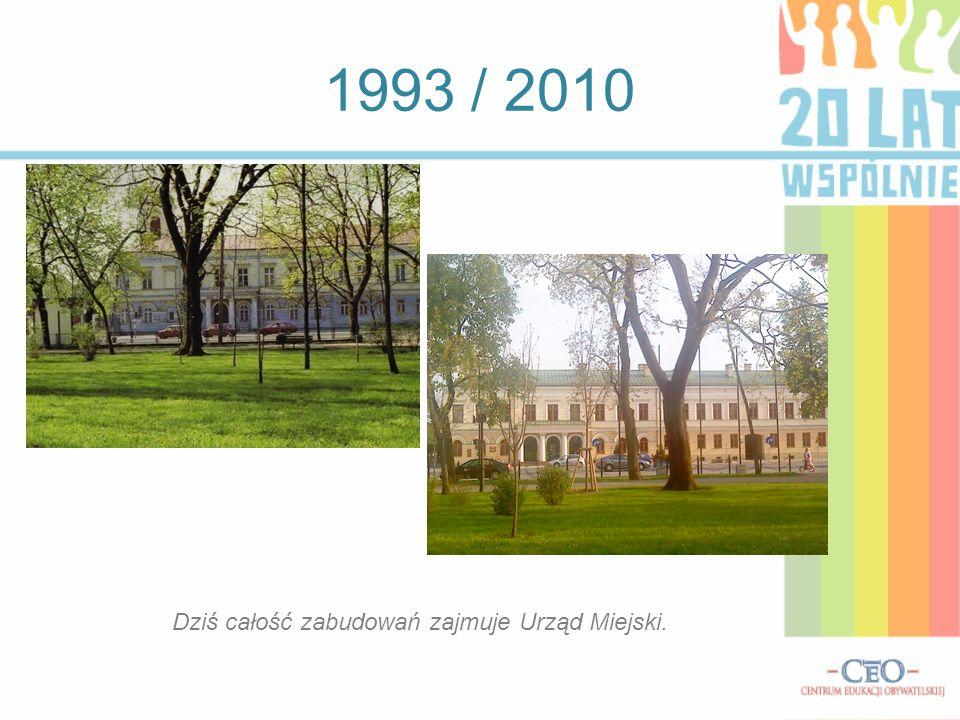 1993 / 2010 Sztuczny zbiornik wodny - zalew Arkadia