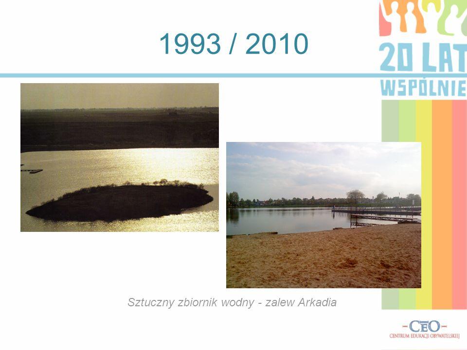 1993 / 2010 Czarna Hańcza w granicach miasta.