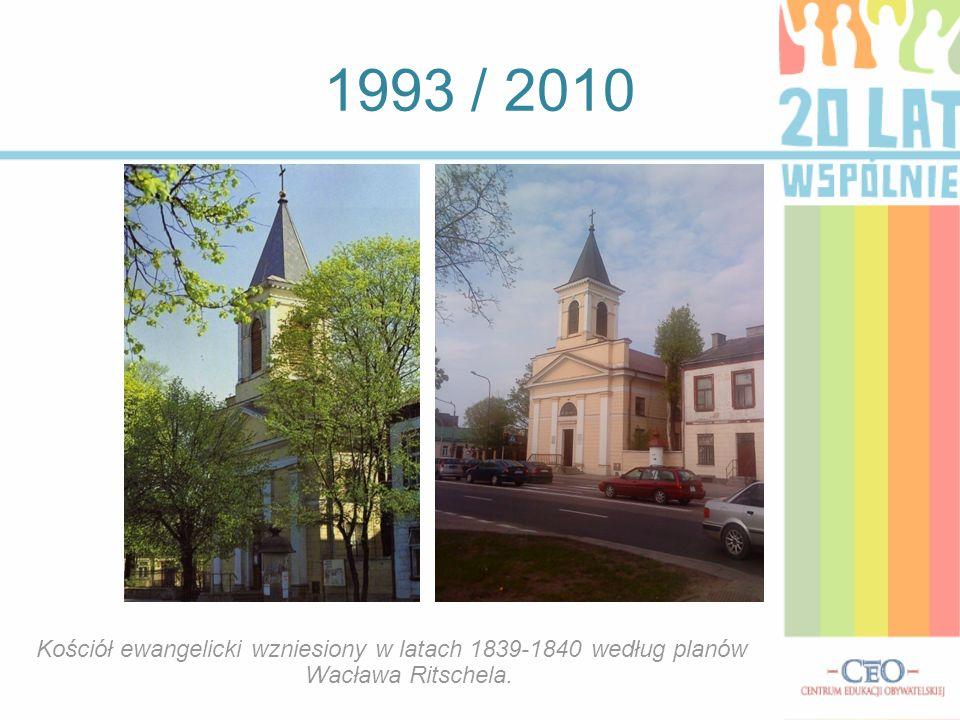 1993 / 2010 Kościół pw Najświętszego Serca Jezusowego.