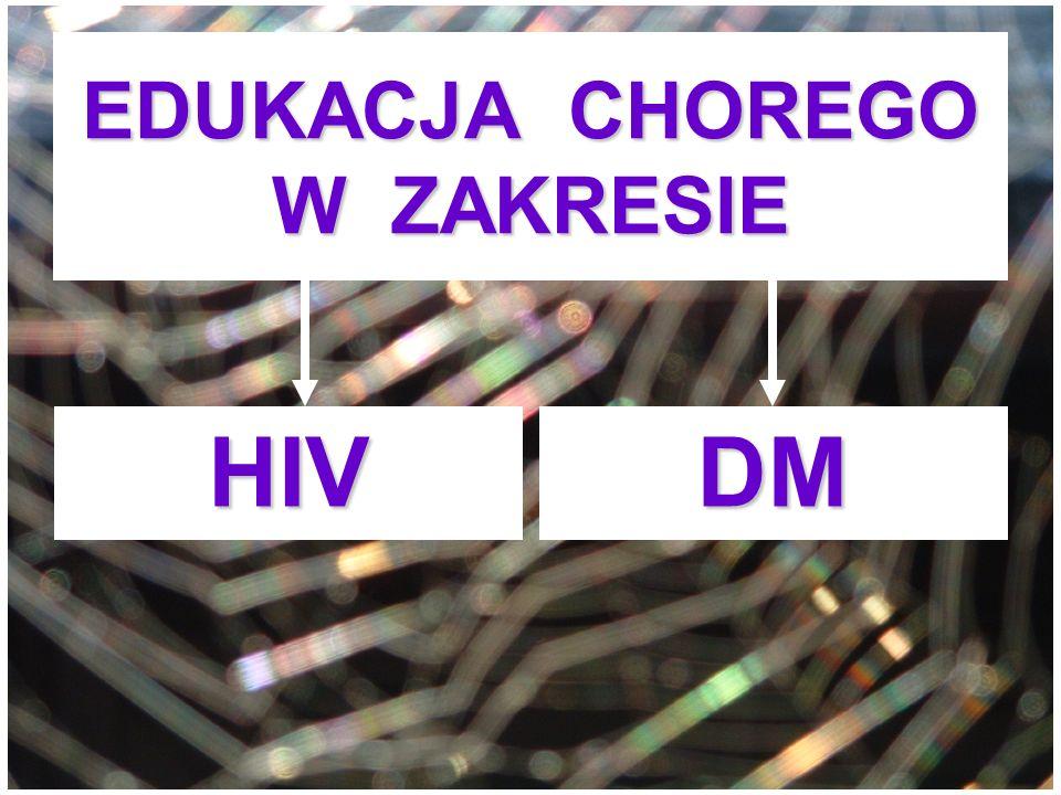 EDUKACJA CHOREGO W ZAKRESIE HIVDM