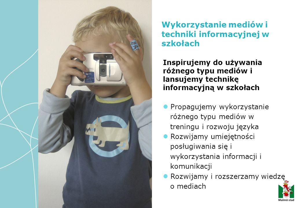 Inspirujemy do używania różnego typu mediów i lansujemy technikę informacyjną w szkołach Propagujemy wykorzystanie różnego typu mediów w treningu i ro