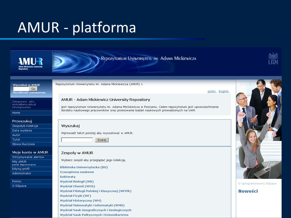 AMUR - platforma